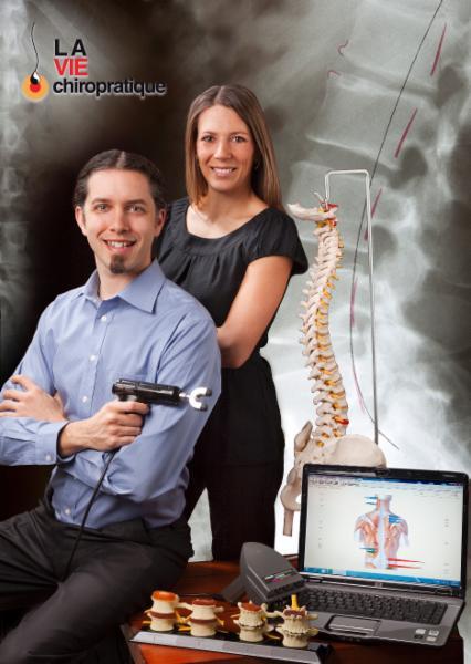 Publicité pour les médias - La Vie Chiropratique