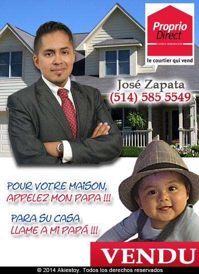 José Zapata Courtier Immobilier - Photo 1
