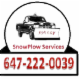 Johnny Snowplow Service - Déneigement - 647-222-0039