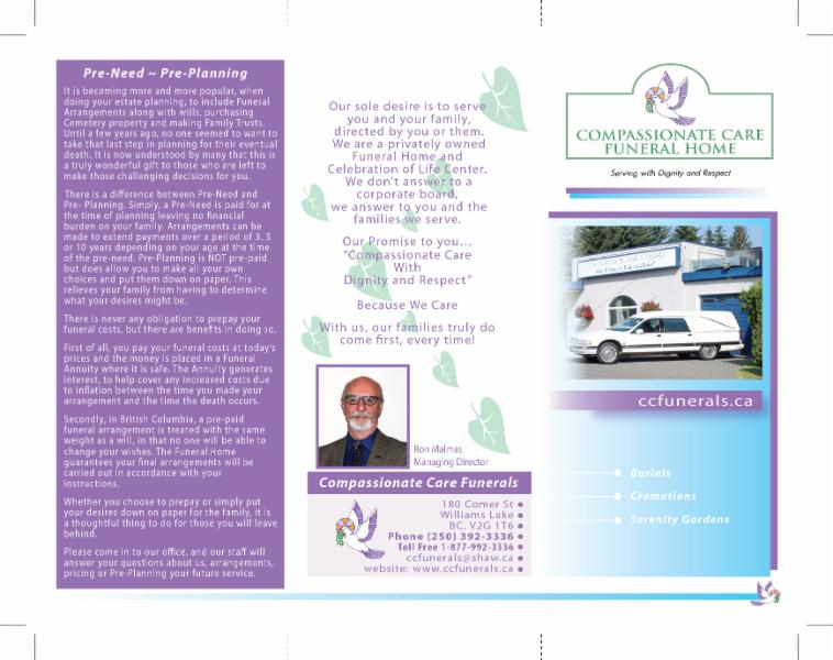 3 fold brochure front