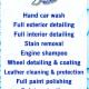 Hand Car Wash & Detailing (A division of Aurora Auto Wholesalers) - Car Detailing - 905-503-2868