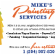 Mike's Painting Services - Drywall Contractors & Drywalling - 204-997-8308