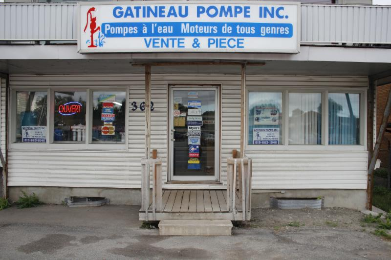 Gatineau Pompe Inc - Gatineau, QC - 362, boul Maloney E | Canpages