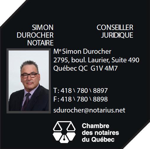 Me Simon Durocher, notaire - Photo 1