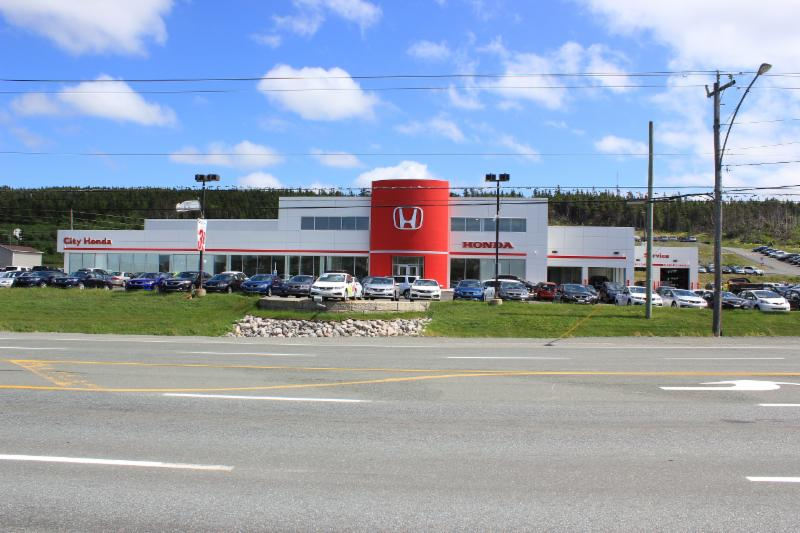 Our location at 547 Kenmount Road - City Honda