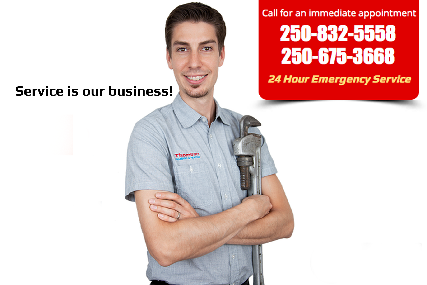 Thomson Plumbing & Heating - Plumbers & Plumbing Contractors - 250-832-5558