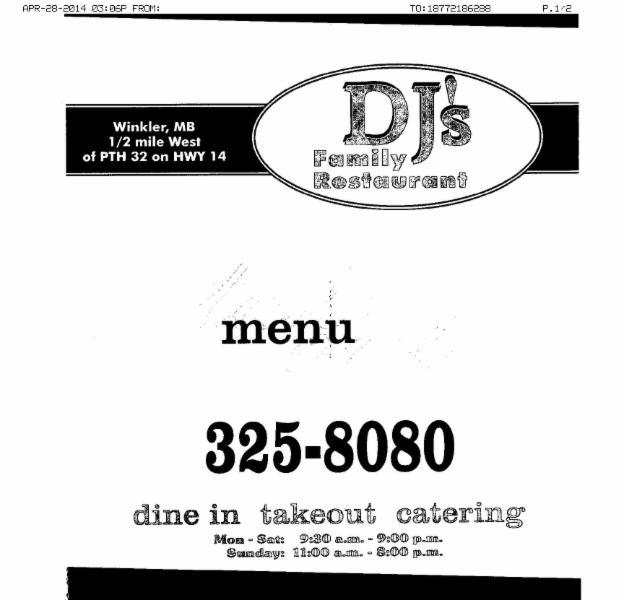 D J's Family Restaurant - Photo 1