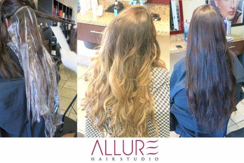 Balayage Ombre - Allure Hair Studio