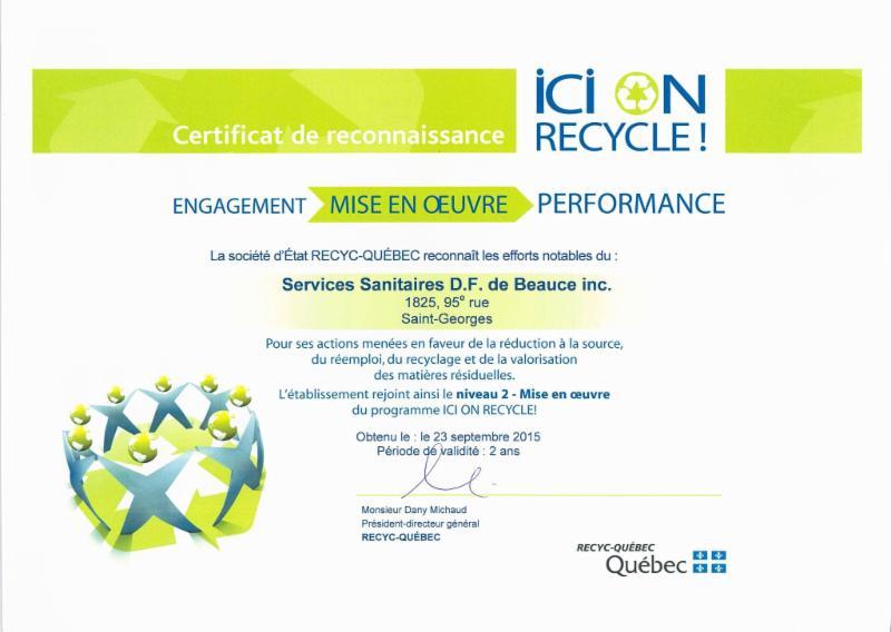 Services Sanitaires DF de Beauce Inc - Photo 2