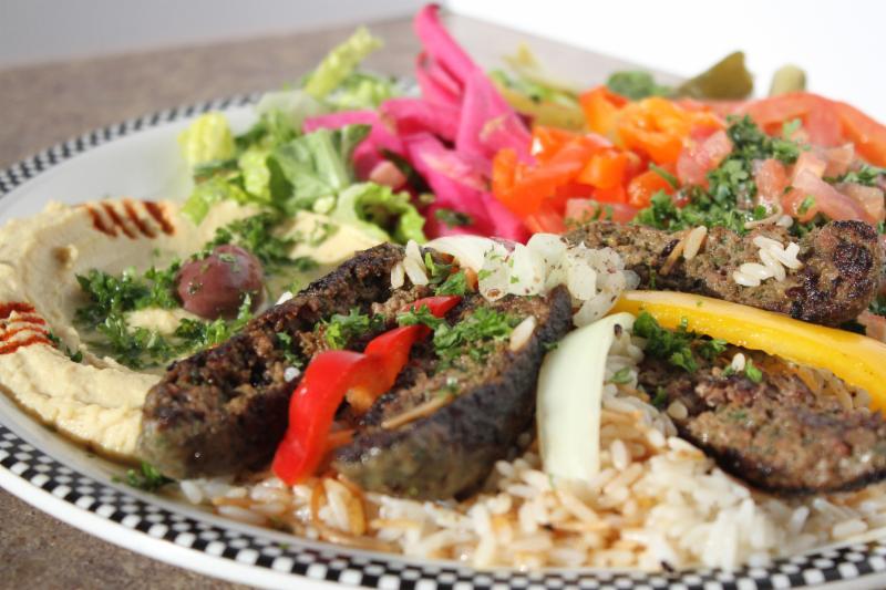 Pita Basket Traditional Lebanese Cuisine - Photo 12