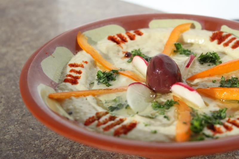 Pita Basket Traditional Lebanese Cuisine - Photo 1