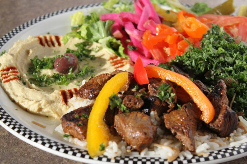 Pita Basket Traditional Lebanese Cuisine - Photo 14