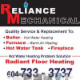 Reliance Mechanical - Heating Contractors - 604-733-3737