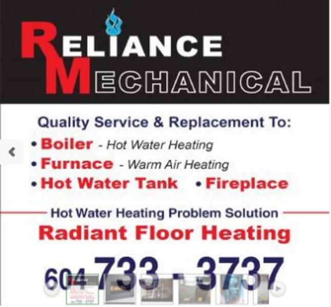 Reliance Mechanical - Photo 1