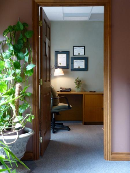 office area - Heart Lake Massage Therapy Clinic