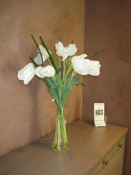always fresh flowers! - Heart Lake Massage Therapy Clinic
