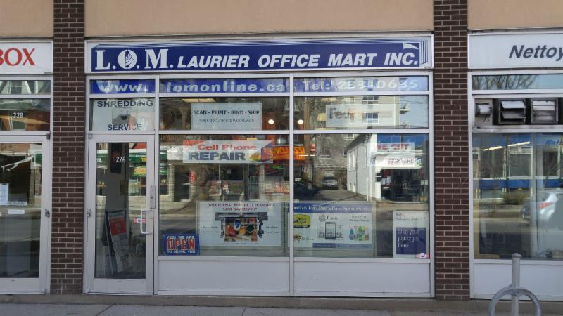 Laurier Office Mart Inc - Photo 2