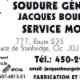 Soudure Générale Jacques Bourgoin - Ateliers d'usinage - 450-296-8878