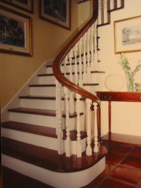 Escaliers mario girard les rigaud qc 743 ch de la baie rr 1 canpages - Escalier colimacon aluminium ...
