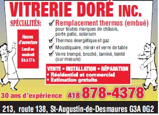 Vitrerie Doré Inc - Photo 1