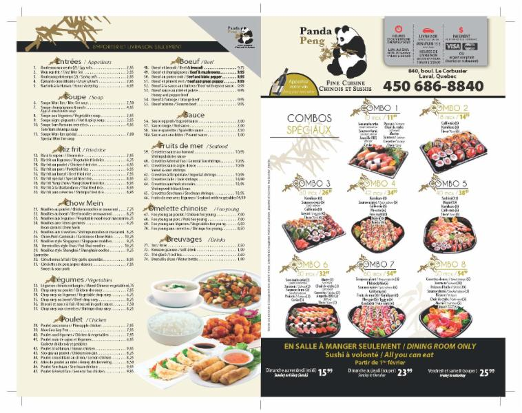 Chinese Food Laval Delivery