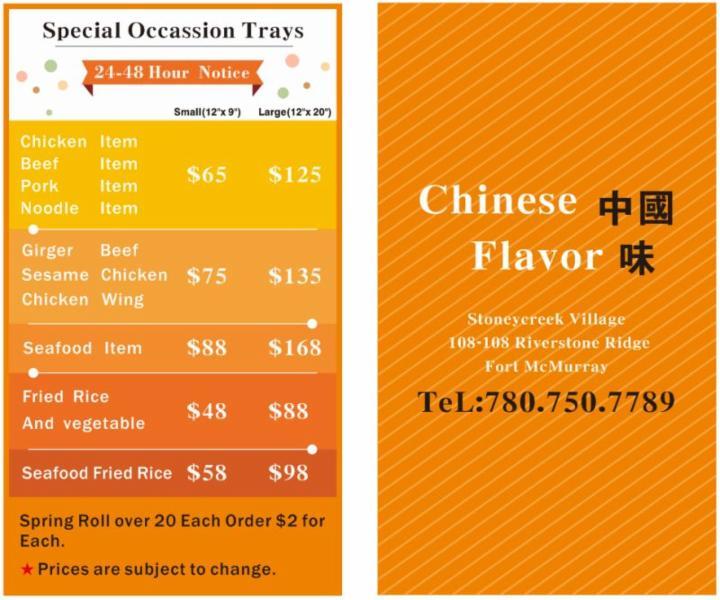 Order Food Online Fort Mcmurray