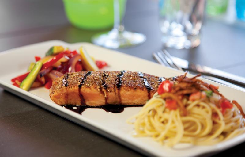 Le pavé de saumon en croûtes d'épices, un coup de c¿ur assuré! - Manoir du Spaghetti