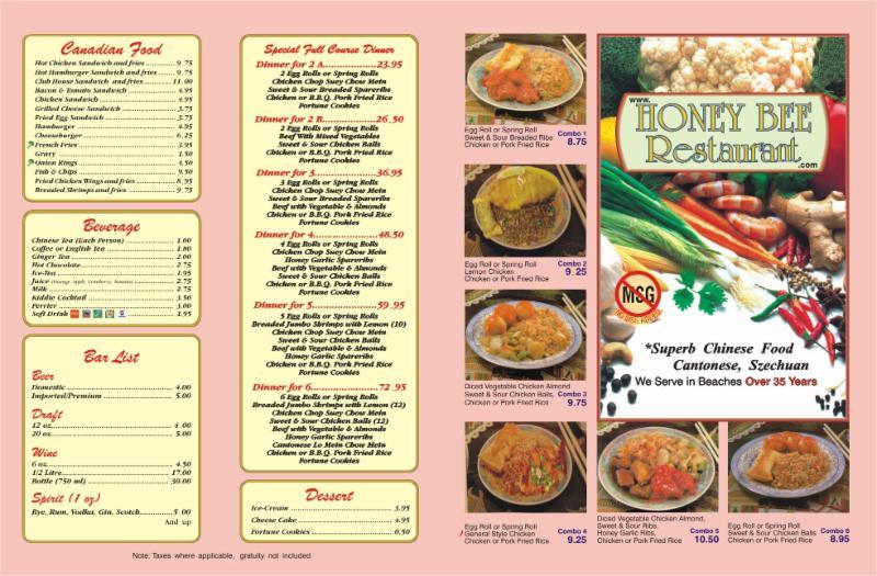 Chinese Food  Hours Toronto