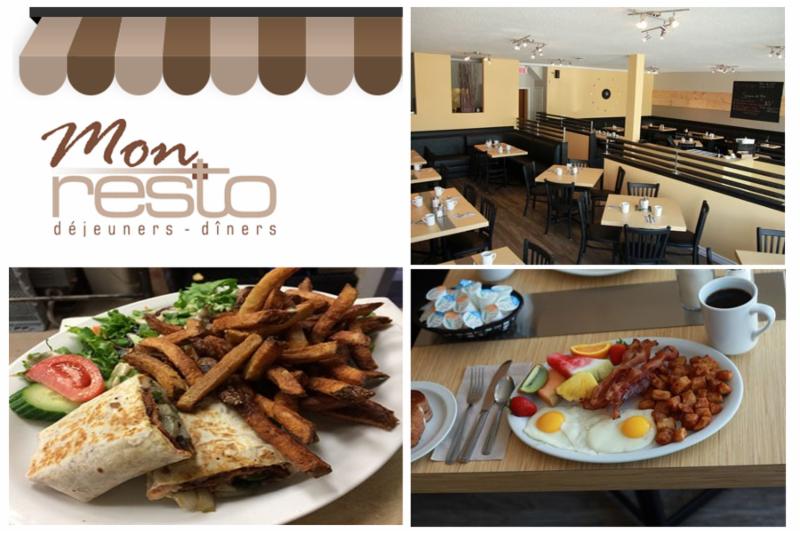 Mon Resto restaurant à Déjeuner et Dîner, à Gatineau