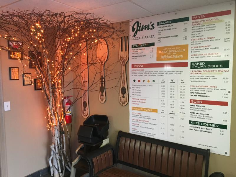Jim's Pizza & Pasta - Photo 3