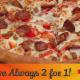 2 For 1 Family Pizza - Pizza et pizzérias - 306-446-1212
