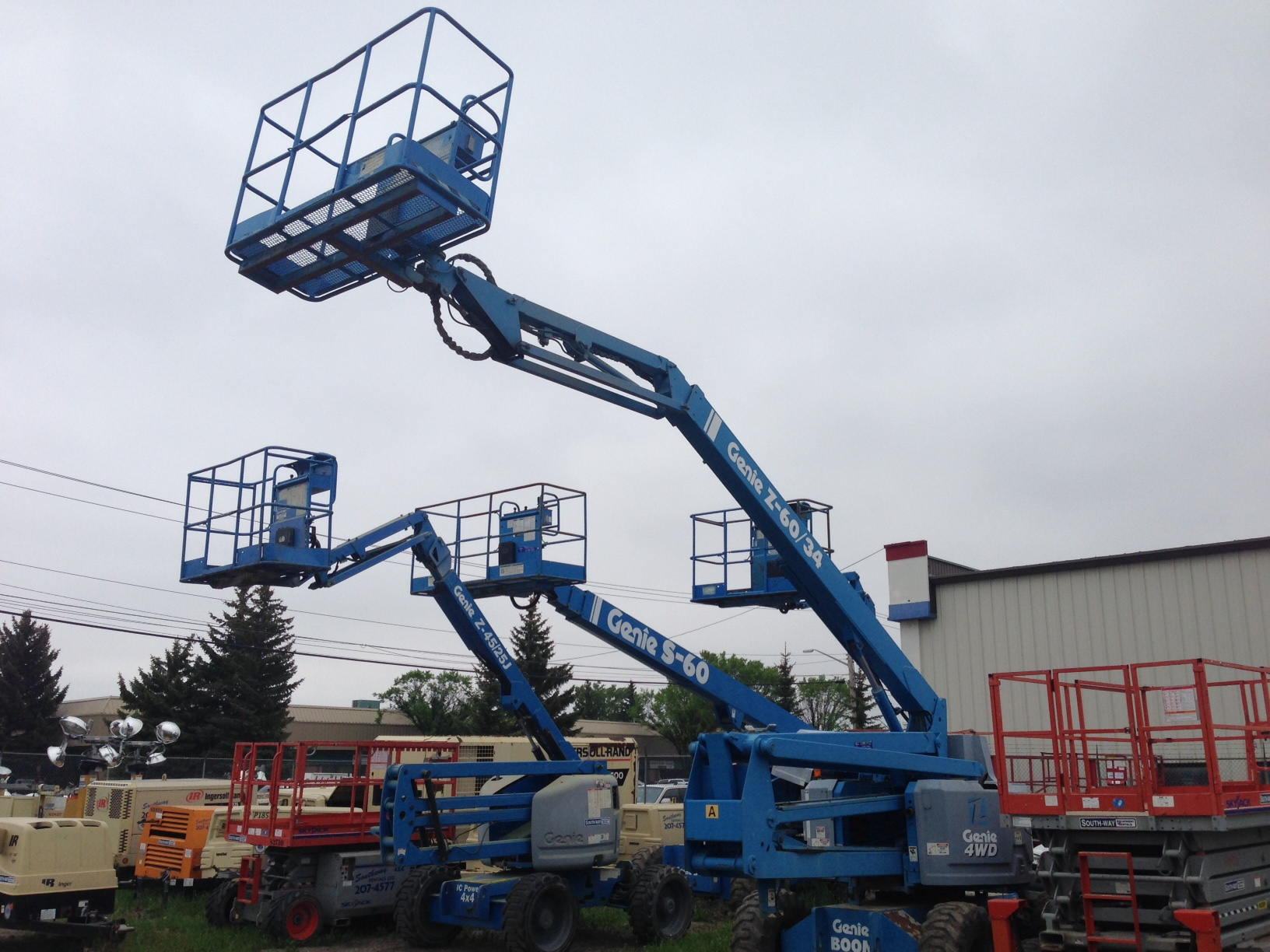 South-Way Equipment Rentals Ltd - General Rental Service - 403-207-4577
