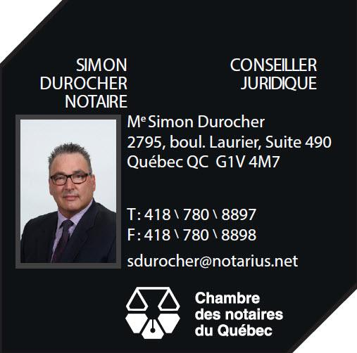 Me Simon Durocher, notaire - Photo 1