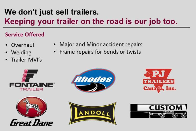 Our Truro location specializes in the sales of new and used trailers as well as trailer repairs and maintenance.