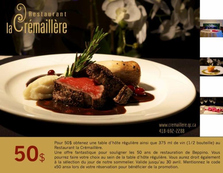 Restaurant La Crémaillère - Photo 2