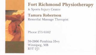 Fort Richmond Physiotherapy & Sports Injury Centre - Photo 4