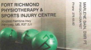 Fort Richmond Physiotherapy & Sports Injury Centre - Photo 5