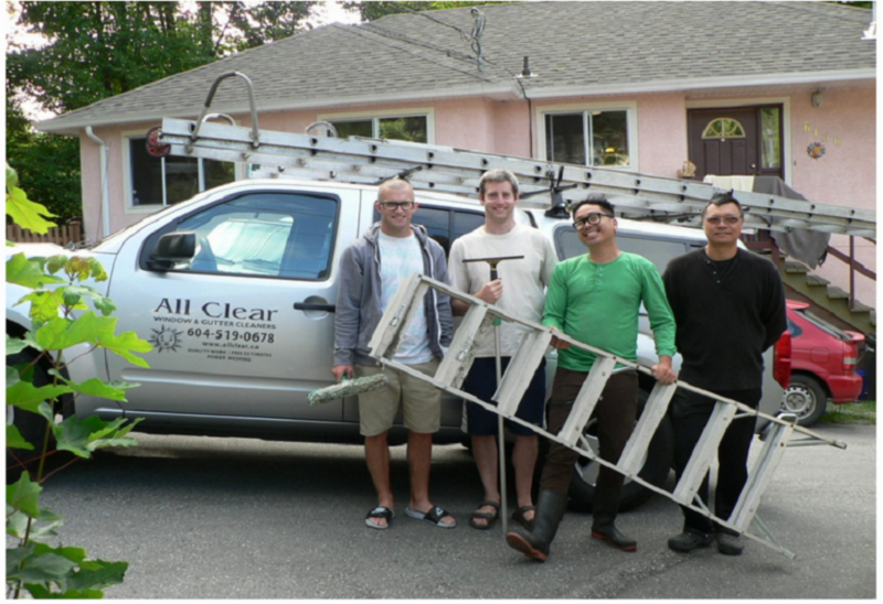 All Clear Window & Gutter Cleaners - Photo 3