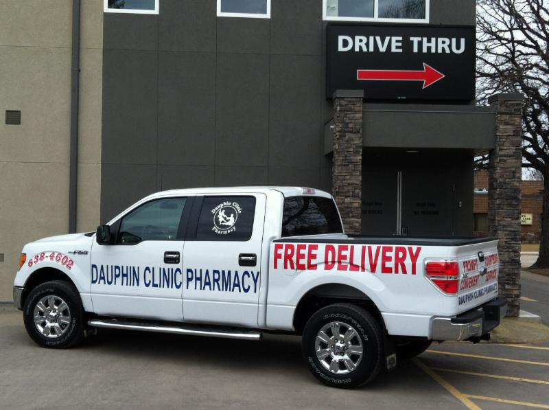 DRIVE THRU SERVICE - Dauphin Clinic Pharmacy