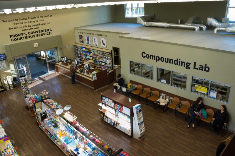 COMPOUNDING LAB ON SITE - Dauphin Clinic Pharmacy