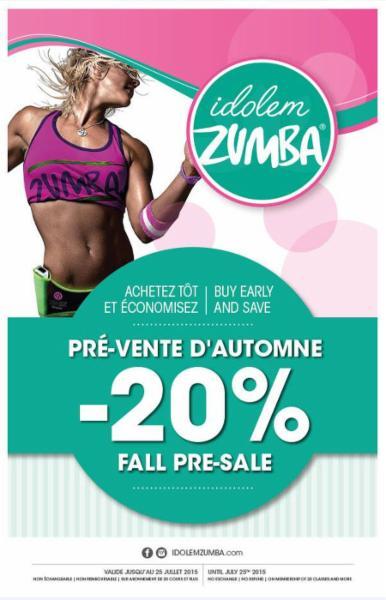 Idolem zumba brossard opening hours 7250 boul for Zumba exterieur brossard