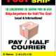 Pay Half Courier Services - Service de courrier - 416-859-5080