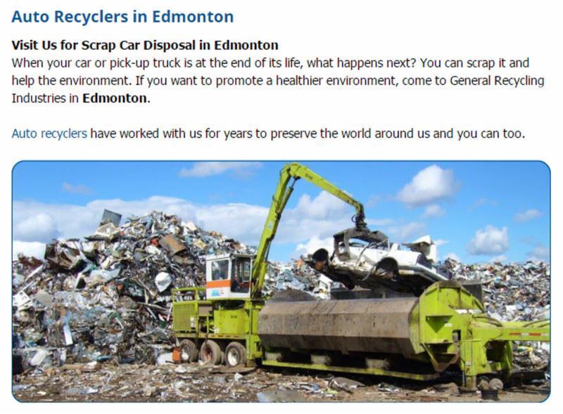 Auto Recycle  - General Steel Ltd