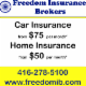 Freedom Insurance Brokers Inc - Courtiers et agents d'assurance - 416-278-5100