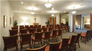 Notre chapelle du 2258 ave Larue, Québec - Résidences Funéraires F.X. Bouchard Inc