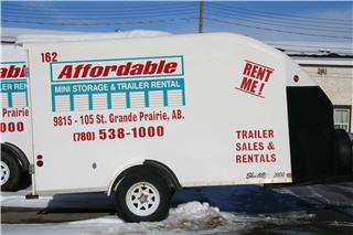 Affordable Mini Storage Amp Trailer Rentals Grande Prairie