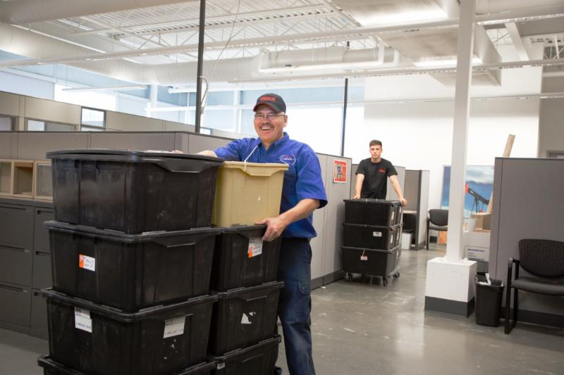 Matco Moving Solutions commercial moving services. We can disassemble, move and reassemble an entire office or commercial facility with precision and care, while staying on-time and on budget. - Matco Moving Solutions