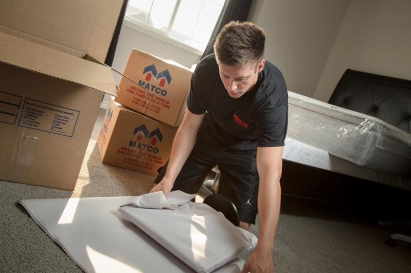 Leave the packing of your home to Matco Moving Solutions. Matco has the trained staff and proper supplies to pack all items in your home, so they arrive damage free. - Matco Moving Solutions