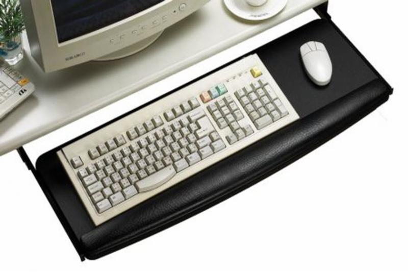 Support à clavier - Mobilier Bureau (Mobilium)