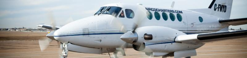 Beechcraft King Air 100 - 9 passenger plane